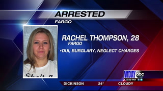 Fargo woman arrested after bizarre accident