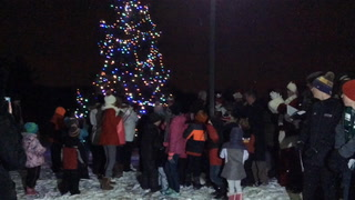 Cottage Grove 2017 tree lighting