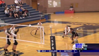 High School volleyball: Moorhead sweeps North