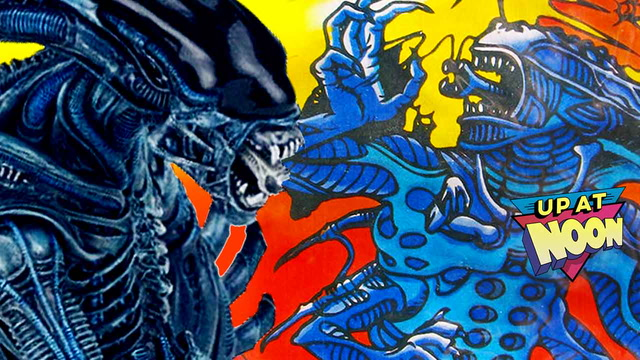 That Time Aliens Was Almost a '90s Cartoon - Up at Noon- Up at Noon