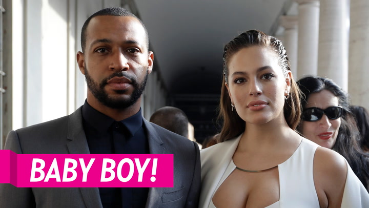 Ashley Graham Gives Birth, Welcomes 1st Child With Husband Justin Ervin