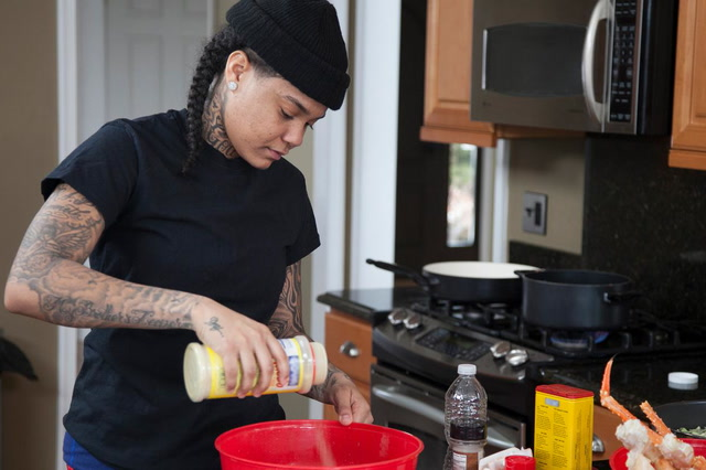 Young M.A On The Struggle of Giving Up Meat