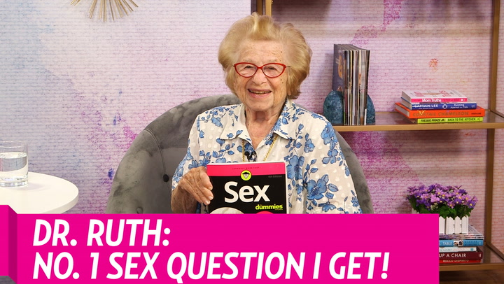 Dr. Ruth Reveals the No. 1 Sex Question She Gets, What She Thinks of Sex in Public