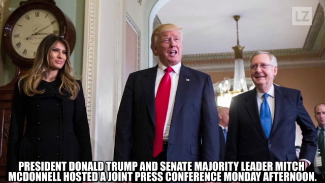 Recap: Trump, McConnell News Conference