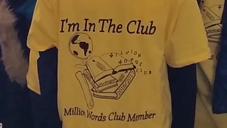 The Drill: Million Words Club makes sure readers are stars, too