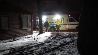 Snowmobiler Rescued From North Long Lake