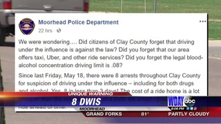 Police rant about busy DWI weekend