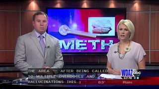 Police warn of possible bad batch of meth in our area