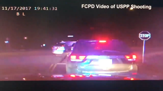The moment of the shooting of Bijan Ghaisar by Park Police in Virgina, in Nov. 2017.