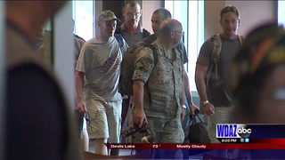11 ND National Air Guard Airmen are back home after 4 month deployment