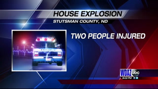 House explosion injures two