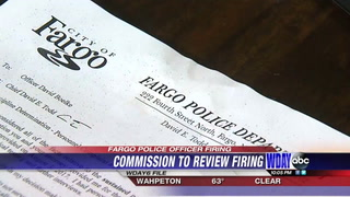 Hearing set to review firing of Fargo police officer