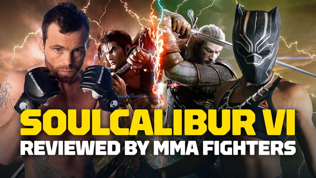 Here's What MMA Fighters Think of Soulcalibur 6