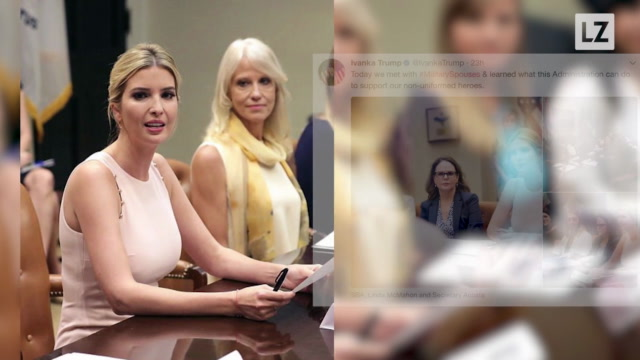 Ivanka Meets with Military Spouses