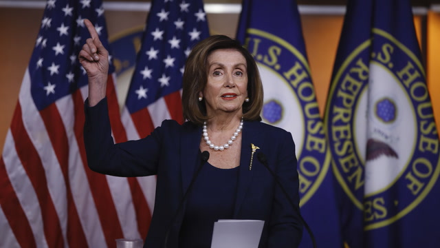 'The administration broke the law': Pelosi on OMB report
