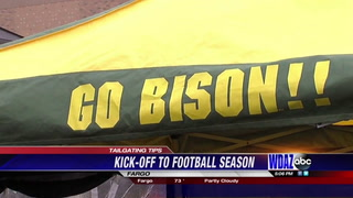 Tips for tailgating at Bison games