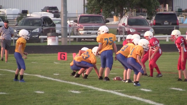 13 year old Jack Hoffman continues to play football despite brain cancer