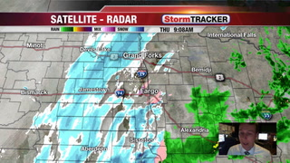 Blizzard Continues Midday & Afternoon