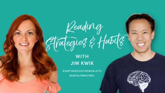 Reading Strategies and Habits with Jim Kwik: Learn to Speed Read and Retain More Information