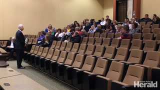 UND stakeholders talk process at budget forum