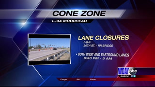 More I-94 overnight lane closures