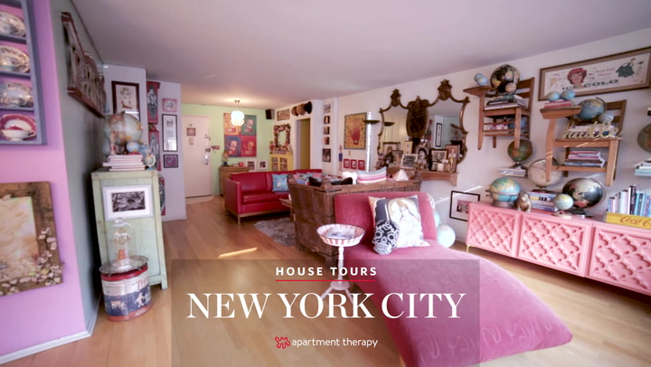 House Tour: A Pop Art Museum In NYC Apartment