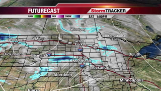 Saturday Forecast: Light Snow/Flurries Possible In Spots