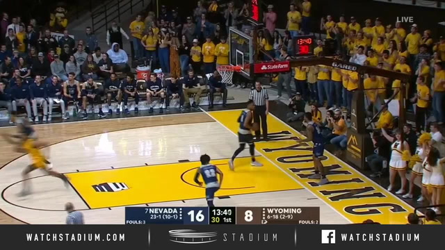No. 7 Nevada vs. Wyoming Basketball Highlights (2018-19)