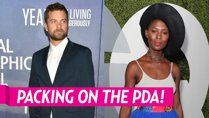 Joshua Jackson Kisses Girlfriend Jodie Turner-Smith, Nibbles on Her Ear After Getting Marriage License