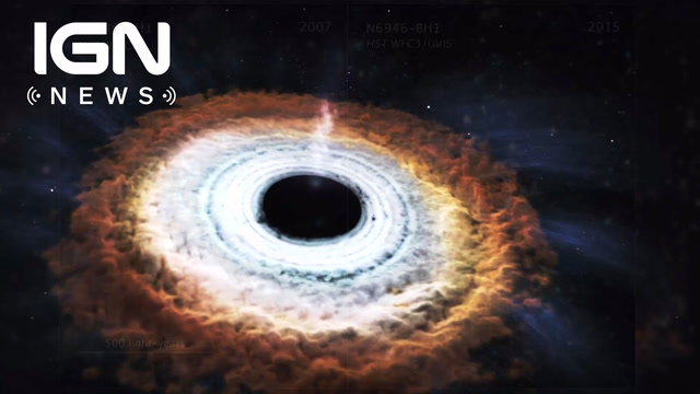 Newly Discovered Black Hole is Farthest Ever Found - IGN News