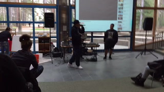 Thomas X performs at FDLTCC