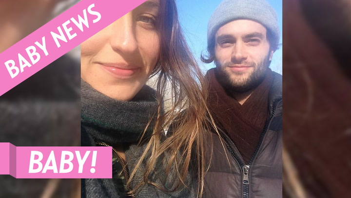 Baby Boy! Penn Badgley Holds His and Domino Kirke's Son in Sweet Shot
