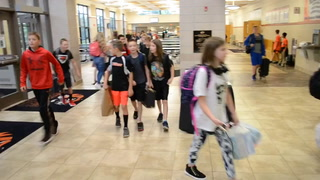 NRMS First Day of School 2018