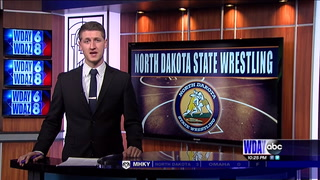 North Dakota Class A State Wrestling