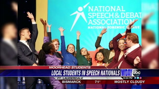 Moorhead speech team competitors place at nationals