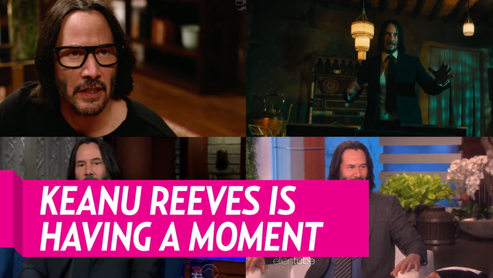 Keanu Reeves Surprised a Family Who Left Him a Sign in Their Yard: 'You're Breathtaking'