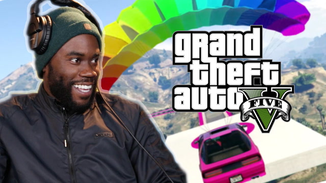 We Race Online In Grand Theft Auto 5