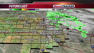 Isolated Showers & T-storms this Afternoon