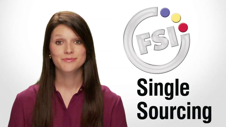 Single Sourcing video at shop.FSIoffice.com
