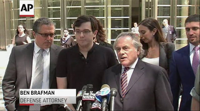 Shkreli Convicted Of Federal Charges