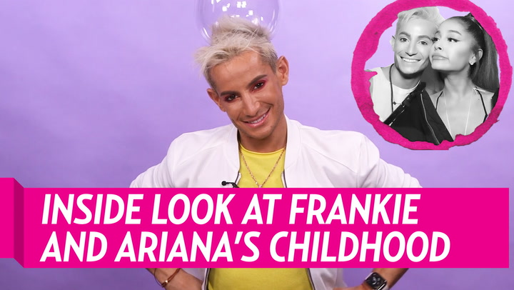 Frankie Grande Describes a Typical Day Spent With Sister Ariana Grande When They Were Young