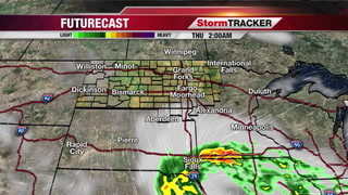 StormTRACKER Forecast Wednesday Evening
