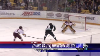 No. 14 UMD sweeps No. 7 North Dakota