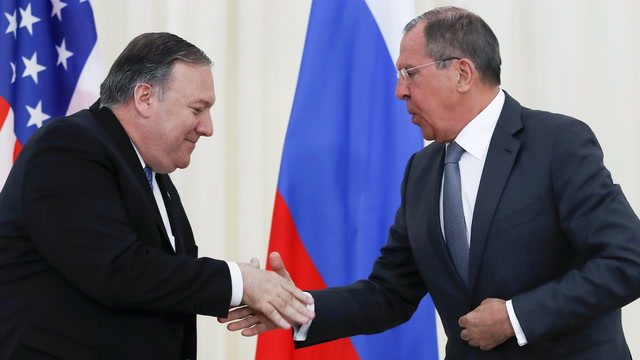 Watch Pompeo and Lavrov's full news conference