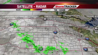 StormTRACKER Weather Webcast Tuesday Morning