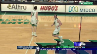 UND men fall to Northern Colorado