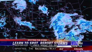 National Weather Service wants your help spotting and reporting storms