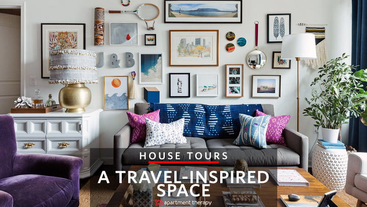 Captivating House Tour: A Travel Inspired Space In The Shadow Of NYC