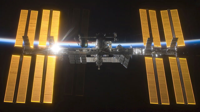 Crew departs International Space Station
