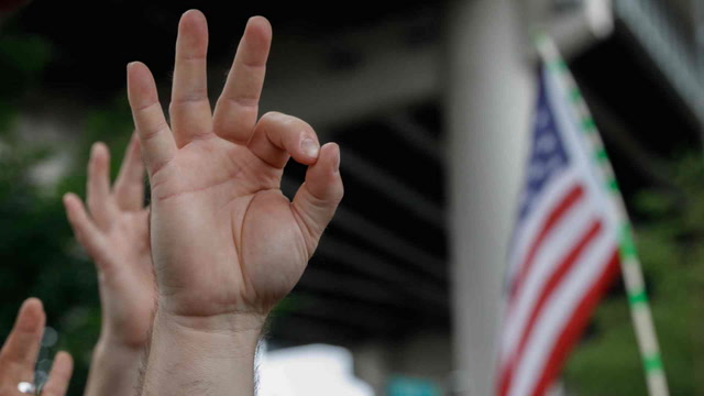 How the 'okay' hand symbol was co-opted by the alt-right